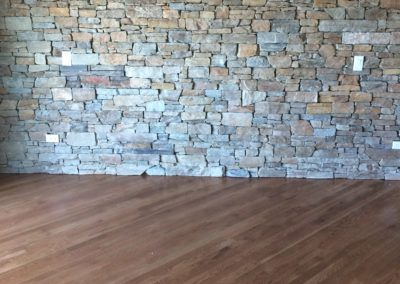 Accent Wall Stacked Stone