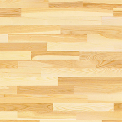 Ash has a color variation from pale white to light/medium brown. It is much like white oak in its ability to absorb pigment without changing the color of the stain but has a bit more exciting graining that can appear straight or wavy.
