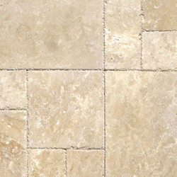 Travertine is a form of limestone, it often has a fibrous or concentric appearance and exists in white, tan, cream-colored, and some rusty varieties